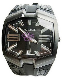 police man axis watch