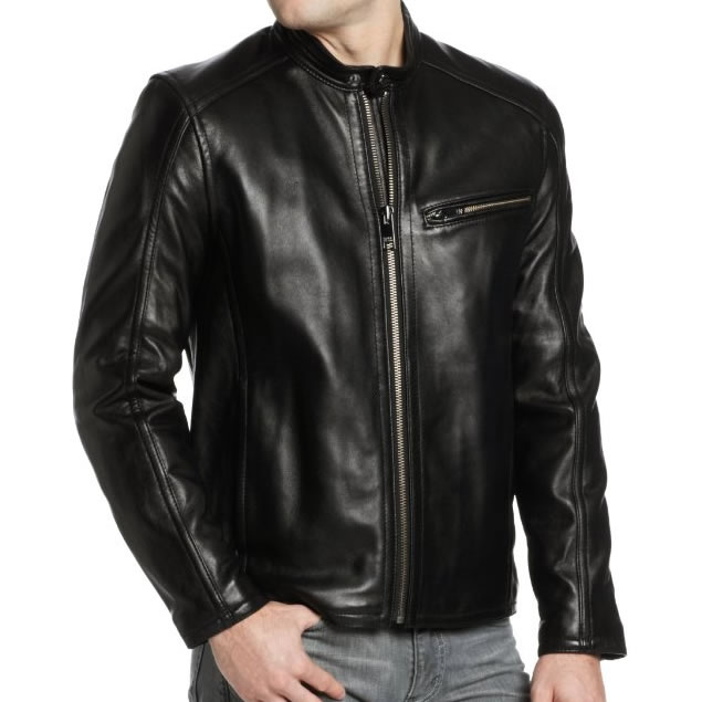 Marc New York by Andrew Marc Men's Sutton Leather Jacket